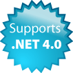 Supports .NET 4.0